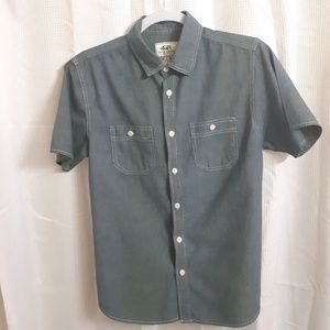 Ecko Unlimited Short Sleeve Button Up Shirt